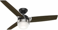 Hunter 59228 Flare Dark Walnut LED 48  Home Ceiling Fan