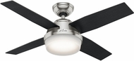 Hunter 59245 Dempsey with Light Contemporary Black Oak / Chocolate Oak LED 44 Indoor Ceiling Fan