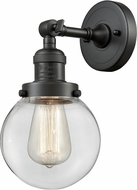 Innovations 203-OB-G202-6-LED Franklin Restoration Beacon Contemporary Oil Rubbed Bronze LED Wall Lighting