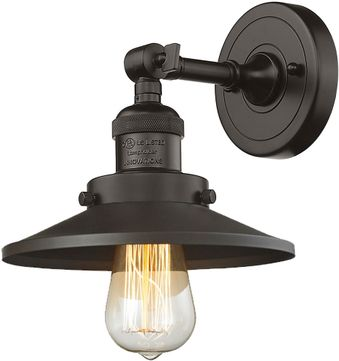 Innovations 203-OB-M5 Railroad Modern Oil Rubbed Bronze Light Sconce