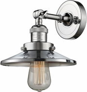 Innovations 203-PC-M7 Railroad Contemporary Polished Chrome Lighting Sconce