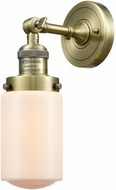 Innovations 203-XX-G311 Franklin Restoration Dover Schoolhouse Modern Mini Pendant Light Fixture