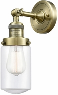 Innovations 203-XX-G312 Franklin Restoration Dover Schoolhouse Modern Wall Sconce