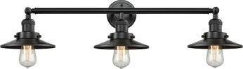 Innovations 205-OB-S-M5 Railroad Modern Oil Rubbed Bronze 3-Light Bathroom Light