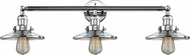Innovations 205-PC-S-M7 Railroad Contemporary Polished Chrome 3-Light Bathroom Lighting Fixture