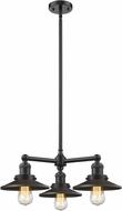 Innovations 207-OB-M5 Railroad Contemporary Oil Rubbed Bronze Mini Lighting Chandelier
