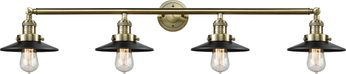 Innovations 215-AB-S-M6 Railroad Contemporary Antique Brass 4-Light Bathroom Wall Sconce