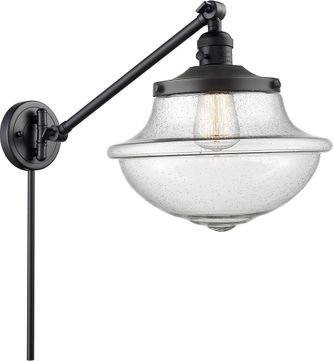 Innovations 237-XX-G544 Large Oxford Modern Swing Arm Wall Lamp