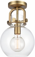 Innovations 410-1F Restoration Newton Sphere Contemporary Ceiling Lighting