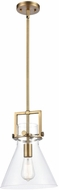 Innovations 411-1S Restoration Newton Cone Modern Hanging Pendant Lighting