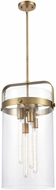 Innovations 413-4S Restoration Pilaster Cylinder Contemporary Hanging Light Fixture