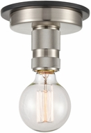 Innovations 431-1F-BSN Restoration Aurora Contemporary Brushed Satin Nickel Ceiling Light Fixture