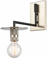 Innovations 432-1W-BSN Restoration Aurora Contemporary Brushed Satin Nickel Wall Mounted Lamp