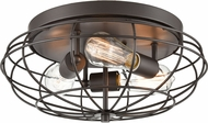 Innovations 510-3C-OB Austere Muselet Contemporary Oil Rubbed Bronze Home Ceiling Lighting