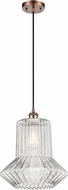 Innovations 516-1P-AC-G212-LED Ballston Springwater Contemporary Antique Copper LED Pendant Lamp