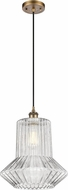 Innovations 516-1P-BB-G212-LED Ballston Springwater Contemporary Brushed Brass LED Pendant Lighting Fixture