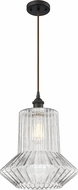 Innovations 516-1P-OB-G212-LED Ballston Springwater Contemporary Oil Rubbed Bronze LED Hanging Light Fixture