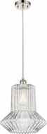 Innovations 516-1P-PN-G212-LED Ballston Springwater Contemporary Polished Nickel LED Ceiling Pendant Light