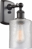 Innovations 516-1W-OB-G112 Ballston Cobbleskill Contemporary Oil Rubbed Bronze Wall Lighting Sconce