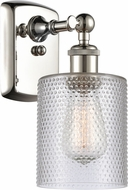 Innovations 516-1W-PN-G112-LED Ballston Cobbleskill Contemporary Polished Nickel LED Wall Light Sconce
