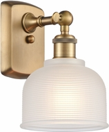 Innovations 516-1W-XX-G411 Ballston Dayton Dome Contemporary Wall Light Sconce