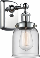 Innovations 916-1W-PC-G52 Ballston Small Bell Contemporary Polished Chrome Lighting Sconce