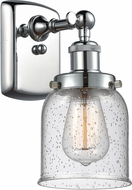 Innovations 916-1W-PC-G54-LED Ballston Small Bell Contemporary Polished Chrome LED Wall Light Fixture