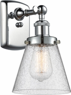 Innovations 916-1W-PC-G64-LED Ballston Small Cone Contemporary Polished Chrome LED Wall Mounted Lamp