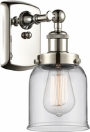 Innovations 916-1W-PN-G52-LED Ballston Small Bell Modern Polished Nickel LED Wall Lamp