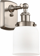 Innovations 916-1W-SN-G51-LED Ballston Small Bell Contemporary Brushed Satin Nickel LED Lighting Wall Sconce