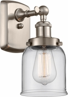 Innovations 916-1W-SN-G52 Ballston Small Bell Contemporary Brushed Satin Nickel Wall Lighting Sconce