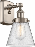 Innovations 916-1W-SN-G64-LED Ballston Small Cone Modern Brushed Satin Nickel LED Wall Sconce