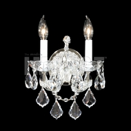 James Moder 40252S22 Maria Theresa Crystal Silver Wall Lighting
