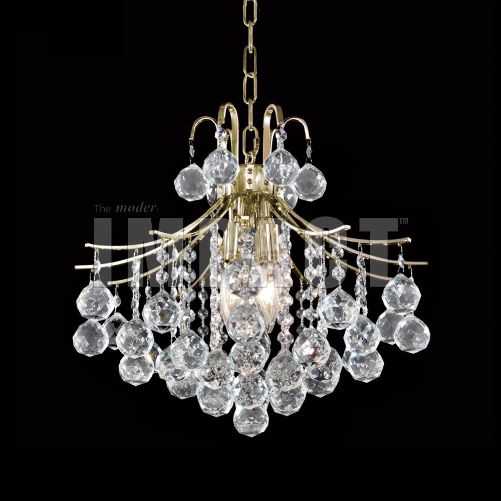 James Moder 40315g22 Cascade Crystal Gold Mini Chandelier Light Flush Mount Loading Zoom