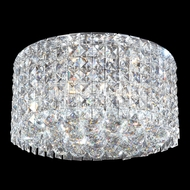 James Moder 40383S22 Silver Flush Mount Lighting