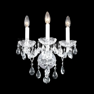 James Moder 40463S22 Place Ice Crystal Silver Lamp Sconce