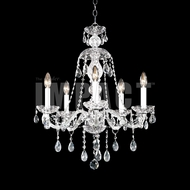 James Moder 40465S22 Place Ice Crystal Silver Mini Lighting Chandelier