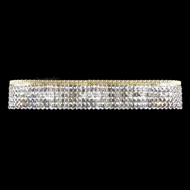 James Moder 40537G22 Imperial Crystal Gold Lighting For Bathroom