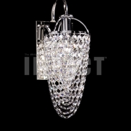 James Moder 40714S22 Silver Wall Sconce Light