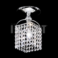 James Moder 40741S22 Silver Ceiling Light