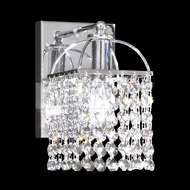 James Moder 40751S22 Silver Wall Lamp