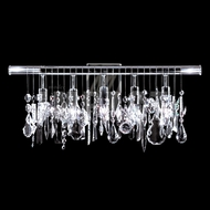 James Moder 40769S22 Silver Bathroom Lighting Fixture
