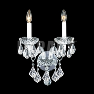 James Moder 40792S22 Place Ice Crystal Silver Sconce Lighting