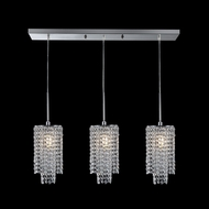 James Moder 41043S22 Contemporary Collection Silver Multi Pendant Light