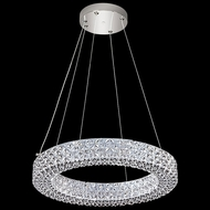 James Moder 41062S22LED Acrylic Silver LED Pendant Lighting