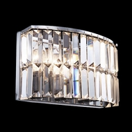 James Moder 41073S22 Silver Wall Sconce