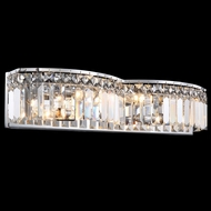 James Moder 41074S22 Silver Bathroom Lighting