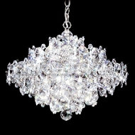 James Moder 91339S22 Continental Fashion Crystal Silver Chandelier Light