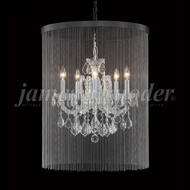 James Moder 91805S22-45 Maria Theresa Grand Crystal Silver Mini Lighting Chandelier