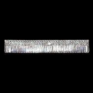 James Moder 92523S22 Prestige Crystal Silver Vanity Light